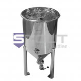 40 Gal Conical Fermenter with Cooling Coil in Lid (2538)