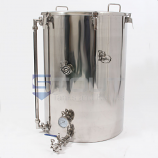 HL75TW-HC-SG (398) 75 Gallon Hot Liquor Tank with HERMS Coil and Sight Glass