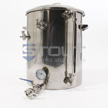 HL30TW-HC-SG (368) 30 Gallon Hot Liquor Tank with HERMS Coil and Sight Glass