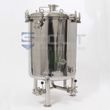 BB40FV (30) 40 Gallon Brite Beer Tank with Butterfly Valves