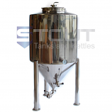 3 BBL / 125 Gallon Non-Jacketed Conical Fermenter