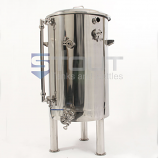 HL40TW-RHC-SG-EL2-LS1-XP-LEGS (384) 40 Gallon Hot Liquor Tank with Sight Glass, HERMS Coil, 2 Element Ports and Legs